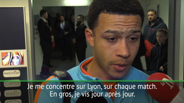 """Transferts - Depay : """"L'intérêt de Milan ? Je me concentre sur Lyon"""""""