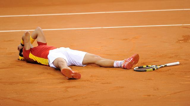 Надалю надо выиграть 3 турнира подряд, чтобы не пустить Федерера в лидеры рейтинга