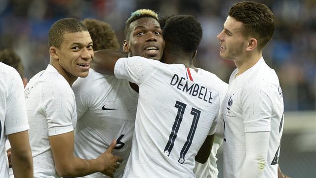 L'Allemagne toujours en tête du classement FIFA, la France devant l'Espagne