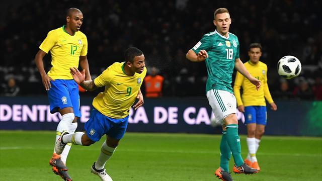 """Brasilien schlägt schwaches DFB-Team: """"Jeder hatte mit sich selbst zu kämpfen"""""""