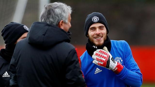 Paper Spherical: Mourinho confident over original De Gea deal