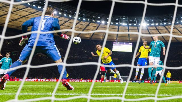 Pour faire gagner le Brésil en Allemagne, Jesus a été bien aidé par Trapp
