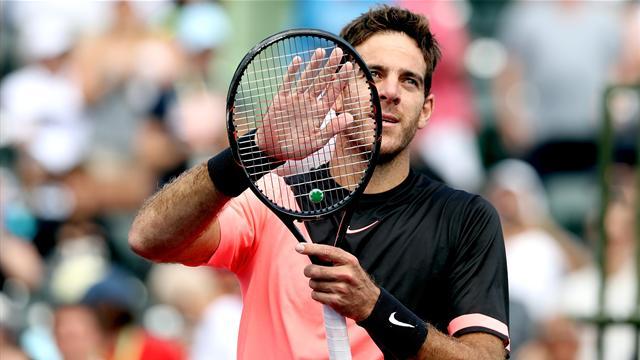 Del Potro continues to sizzle as he reaches Miami Open quarter-finals