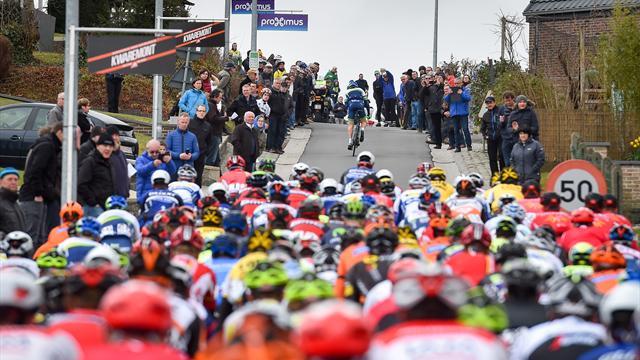 Ciclismo, Attraverso il Fiandre: bis di Lampaert