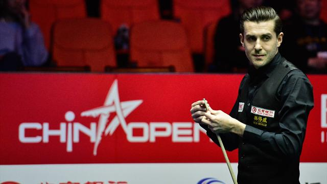 Selby thrashes Lyu to reach quarter-finals of China Open