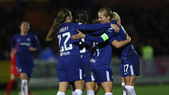 Chelsea reach Champions League semi-finals for first time