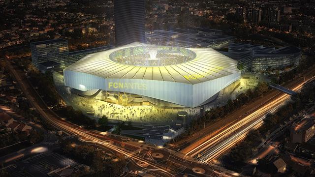 Toit rétractable, écran géant à 360°, kop de 7000 places : le futur stade du FC Nantes se dévoile