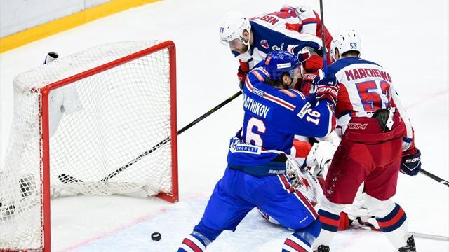СКА обыграл ЦСКА и сравнял счет в серии финала Запада