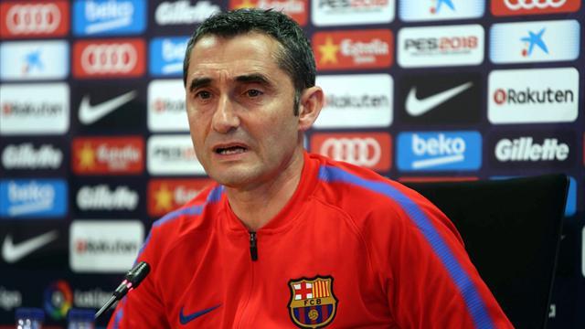 La respuesta de Valverde a una pregunta incómoda sobre un doblete del Barça