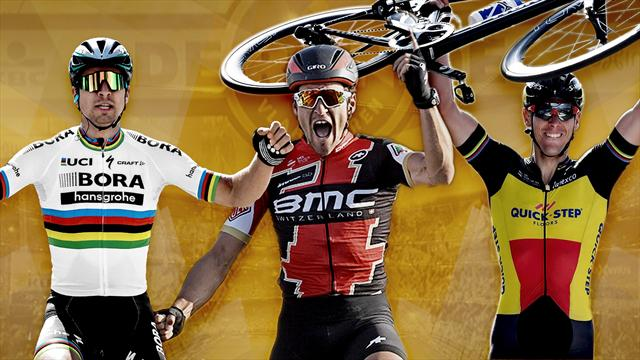 Sagan, Gilbert, Van Avermaet : Les favoris du Ronde au crible
