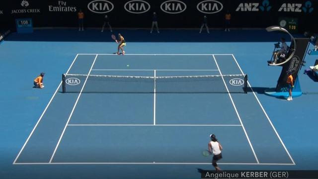 Topshots: Einfach am Netz vorbei - mit Federer, Kyrgios & Kerber