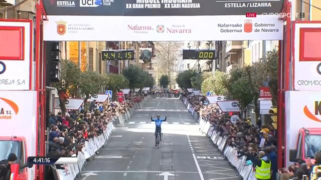 Imbattibile Alejandro Valverde! Vince in solitaria il GP Indurain, nona vittoria nel 2018