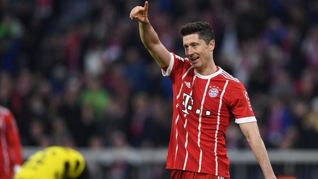 A défaut de sacre, le Bayern s'est offert un festival contre le rival