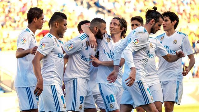 LaLiga, Las Palmas-Real Madrid: Bale y Benzema afilan colmillos antes de visitar a la Juventus (0-3)