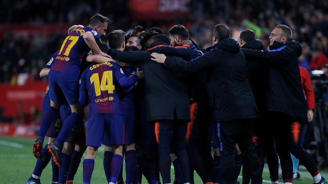 Suarez, Messi salvage Barcelona's unbeaten run in ...