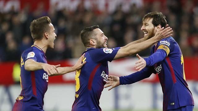 LaLiga, Sevilla-Barcelona: Con Messi todo es posible (2-2)