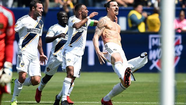 Zlatans schönste Tore: Ibrahimovics Top 5 in der MLS