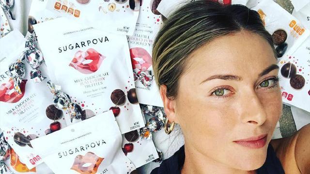 Шарапова представила новые конфетки на Пасху, от которых у тебя слипнется все на свете