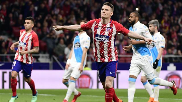 Service minimum pour Gameiro et l'Atlético