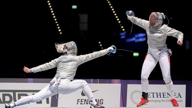 Grand Prix de sable: Olga Kharlan y Aaron Szilagyi se coronan en Seúl