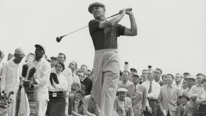 Ben Hogan lors du Masters à Augusta.