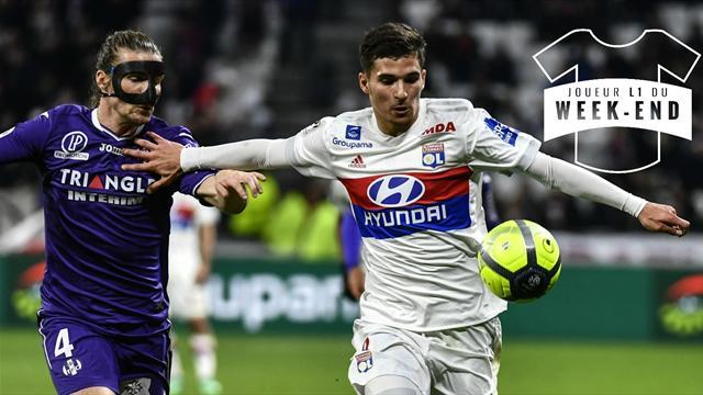 Pour vous, Aouar est le meilleur joueur de la 31e journée de Ligue 1