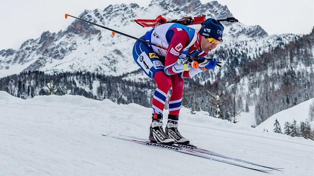 45! Hier holt Björndalen die letzte WM-Medaille seiner Karriere