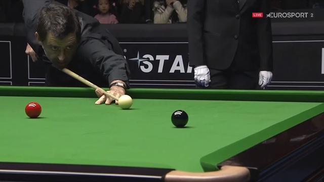 Snooker-stjernen Ronnie O'Sullivan laver sit første maximum break siden 2014