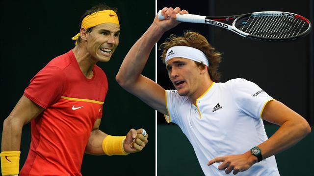 Nadal-Zverev, la finale idéale avant Roland
