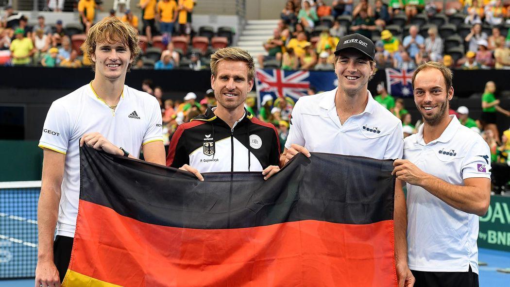 Davis Cup Deutschland Gegen Spanien Ist Werbung Für Den Wettbewerb