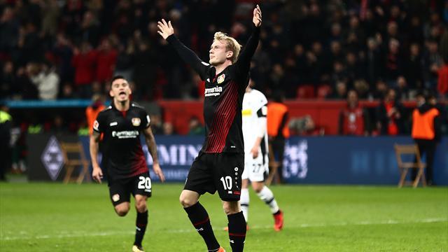 Germany winger Brandt extends Leverkusen deal to 2021