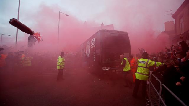 Liverpool apologise for 'unacceptable' attack on Manchester City bus