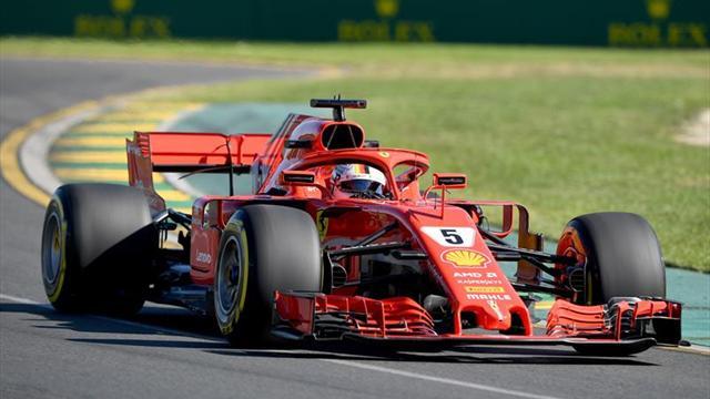 Vettel sequeda con la pole; 'Checo' termina en el 12