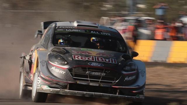 Victoria de local para Sebastien Ogier — WRC