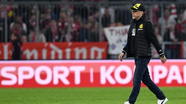 Stöger annonce son départ de Dortmund