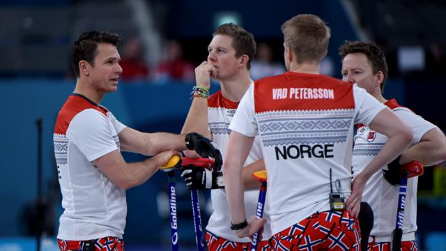 Three-way tie for top spot as Norway lose at World Championship