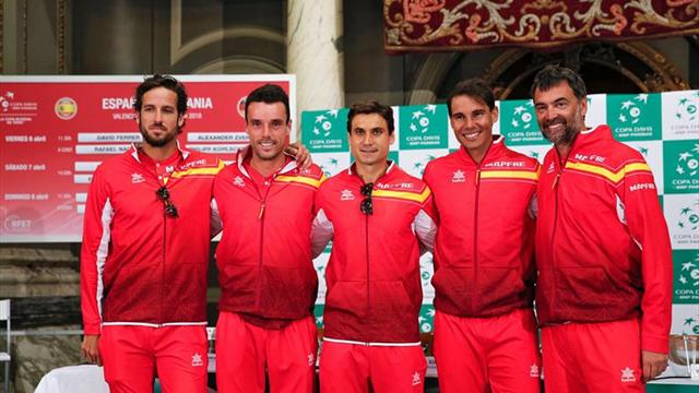 Alemania aventaja a España en la Copa Davis