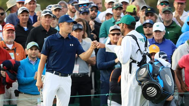 Masters 2018: Spieth powers to two-shot lead, Garcia has nightmare