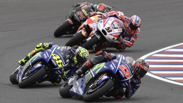 Die MotoGP in Austin heute live im TV und im Eurosport Player