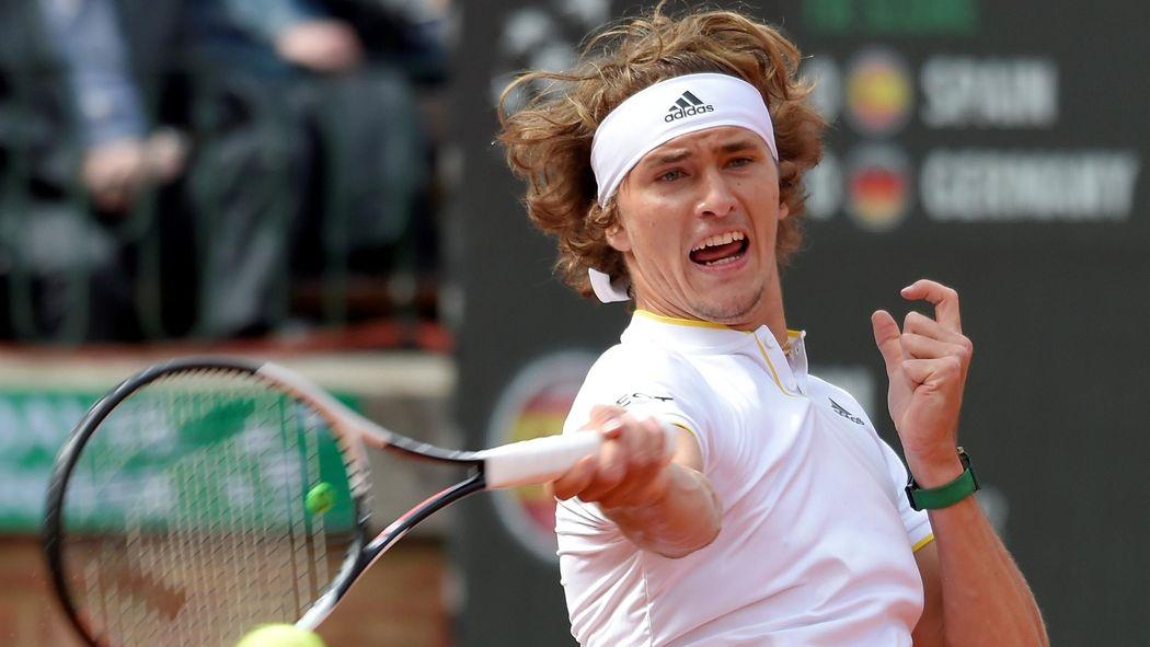 Davis Cup Viertelfinale Spanien Deutschland Alexander Zverev