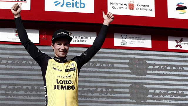 Roglic holds off Landa for Tour of Basque Country triumph