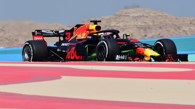 Libres 1 : Ricciardo à fond, Verstappen à l'arrêt