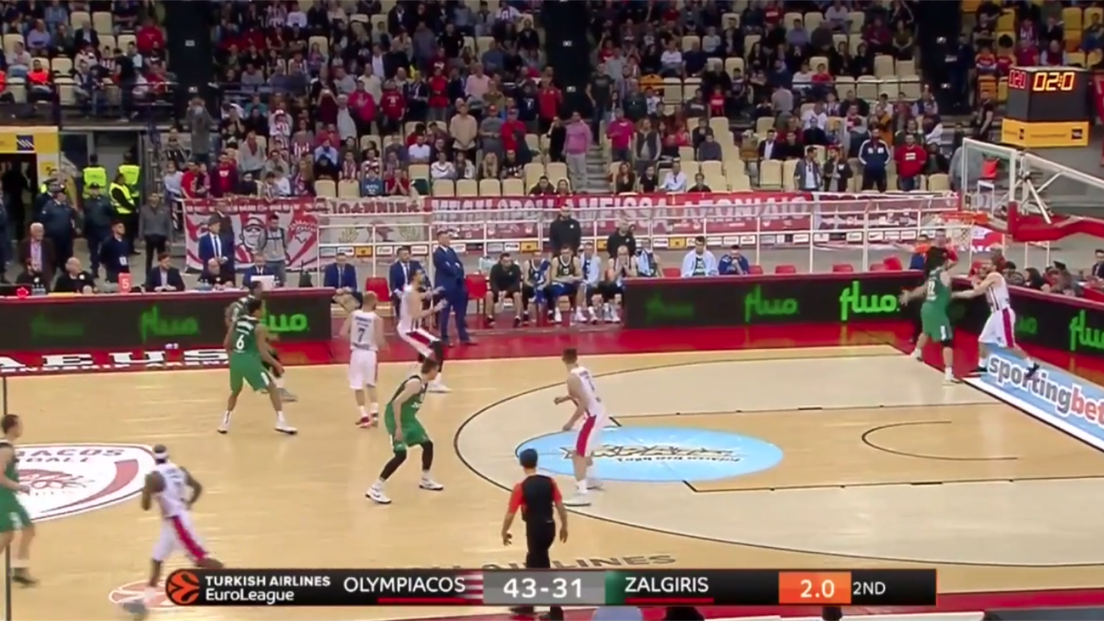 Video highlights olympiacos pireo 85 86 zalgiris kaunas for League table 85 86