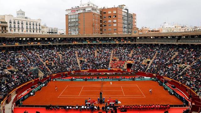 Equilibrio en la primera jornada de cuartos de Grupo Mundial — Copa Davis