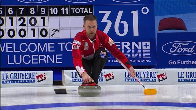 Sweden sweep to victory with dramatic last stone