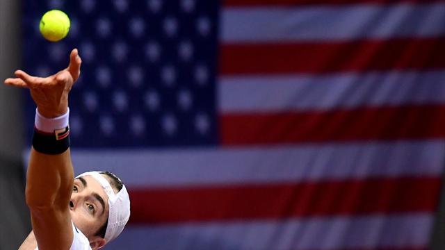 Isner fera face à De Loore — Coupe Davis
