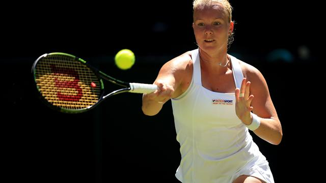 WTA Charleston: Kiki Bertens eases past Julia Goerges for the biggest title