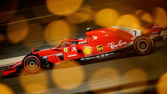 Räikkönen abandonne après avoir renversé un mécanicien