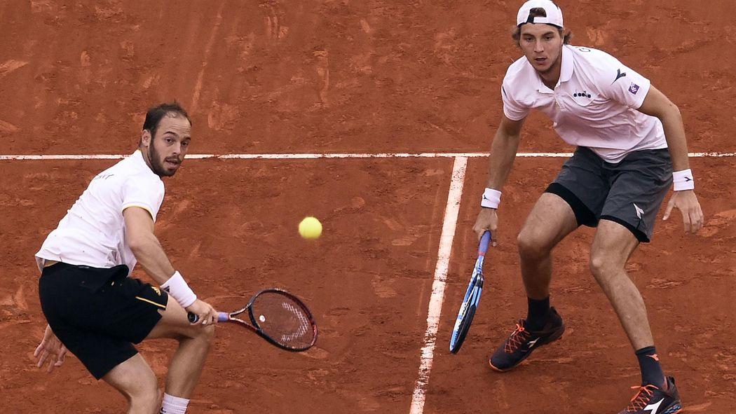 Davis Cup Viertelfinale So Lief Der Doppel Krimi Zwischen Spanien