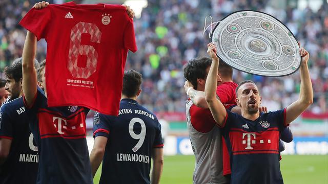 Ribéry record, 100%, 26 ans, le talisman Coman… Le 28e titre du Bayern en stats